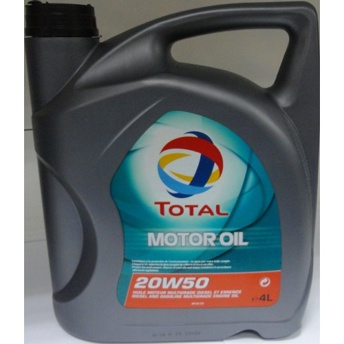 Total motor oil 20w 50 4l for Motor oil api rating
